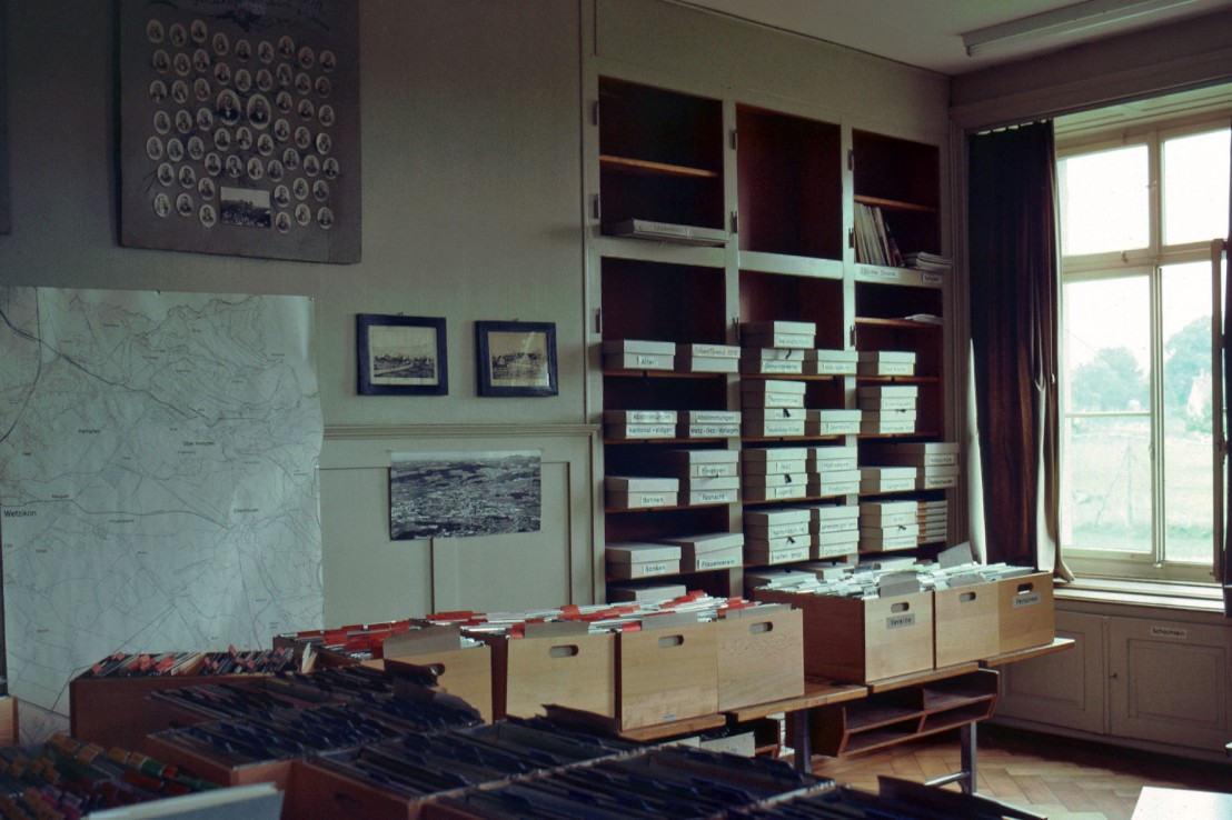 Chronikstube 1980er Jahre